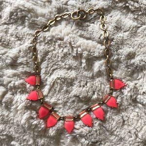 Stella & Dot Jewelry - Stella + Dot Candy pink and gold necklace